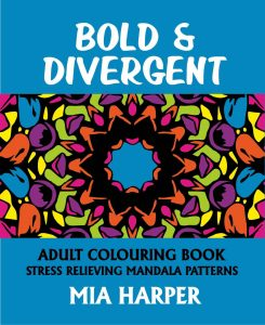 Bold & Divergent Adult Colouring Book Cvr