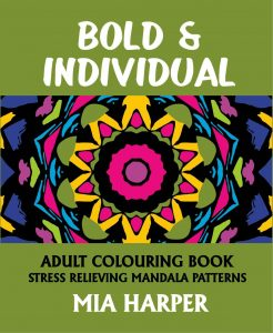 Bold & Individual Adult Colouring Book Cvr