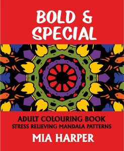 Bold & Special Adult Colouring Book Cvr