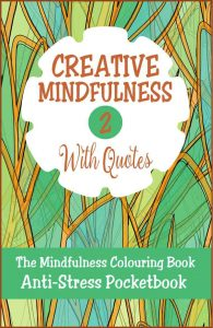 Creative Mindfulness 2 Anti-Stress Pocketbook Adult Colouring Book Cvr