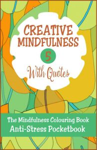 Creative Mindfulness 5 Anti-Stress Pocketbook Adult Colouring Book Cvr