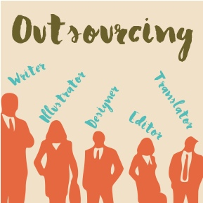 Outsourcing, Self-Publishing