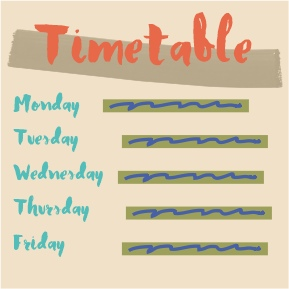 Timetable, Self-Publishing